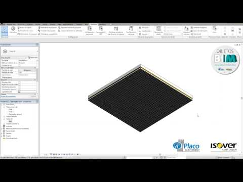 Building Information Modeling (BIM) • Placo e Isover Techos