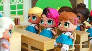 LOL Dolls Stories #4 ! Toys and Dolls Fun for Kids | SWTAD