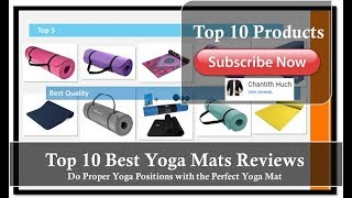 Top 10 Best Yoga Mats In 2019 Reviews [Official CH-Clip]