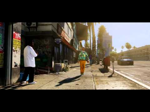 Grand Theft Auto Five Official Trailer 2011 (Los Angeles)
