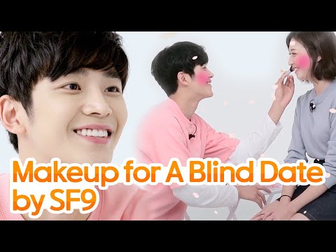 Makeup For A Blind Date (ft.SF9)• ENG SUB • dingo kbeauty