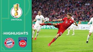 Bayern wins epic shootout with underdog | FC Bayern vs. 1. FC Heidenheim 5-4 | Highlights | DFB Cup