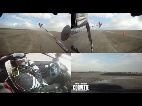 Texas Mile - 251mph pass - Split View