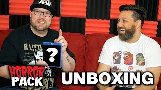 December 2019 Horror Pack Unboxing! - Horror Movie Subscription Box
