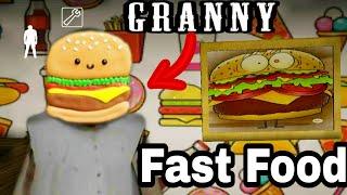 Granny Fast Food Full Gameplay