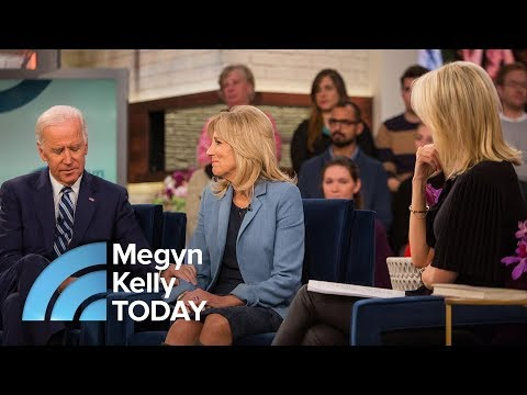 Joe Biden On Wearing His Son Beau's Rosary Beads : It's My Connection To Him | Megyn Kelly TODAY