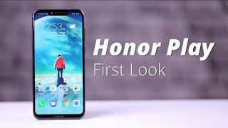 Honnor play unboxing, frist look and full review in English and honner play phone price in India