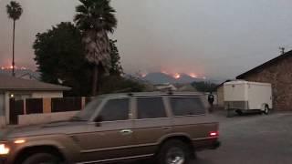 California Fires (Thomas Fire): Carpenteria 12/10/2017