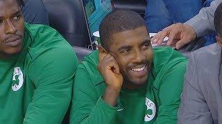 Kyrie Irving 1st Celtics Game With Gordon Hayward | 2017 NBA Preseason