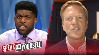 Emmanuel Acho explains why forcing trades is a problem for the NBA | SPEAK FOR YOURSELF