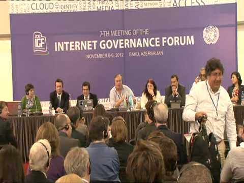 IGF 2012: Enhanced Cooperation on Internet governance: from deadlock to dialogue