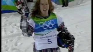 バンクーバーオリンピック   スノーボード ハーフパイプ   決勝 ショーン・ホワイト