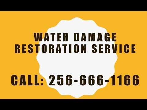 Water Damage Removal Huntsville AL | CALL: 256-666-1166