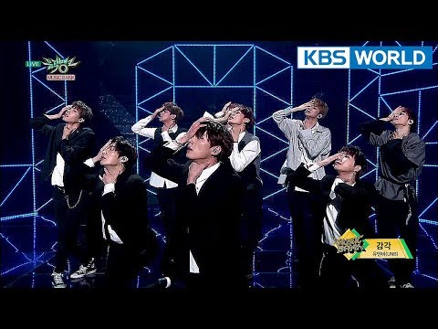 UNB - Feeling | 유앤비 - 감각 [Music Bank Hot Debut / 2018.04.13]
