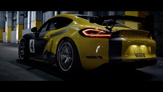The new Cayman GT4 Clubsport. Rebels race harder.