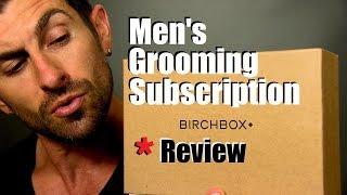 Birchbox Man Grooming Subscription Review   Come Meet Alpha M.