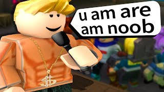 ROBLOX RAP BATTLES... the worst I've ever seen..