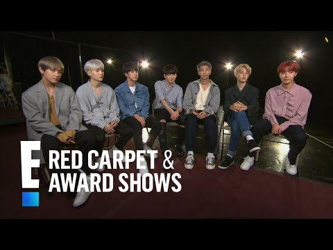 Boys of BTS Tease 2017 American Music Awards Performance | E! Red Carpet & Award Shows