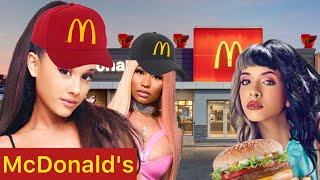 Celebrities at McDonald's