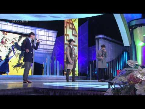 101231 KBS2 연기대상 축하무대 JYJ 찾았다