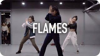 Flames - David Guetta & Sia / Jin Lee Choreography