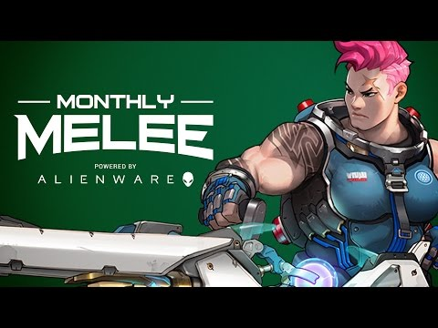 Overwatch Alienware Monthly Melee - Coming August 30-31