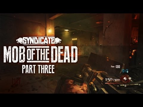 Black Ops 2 Zombies 'Mob Of The Dead' Death Machine! Gameplay Live W/Syndicate (Part 3) - Smashpipe Games