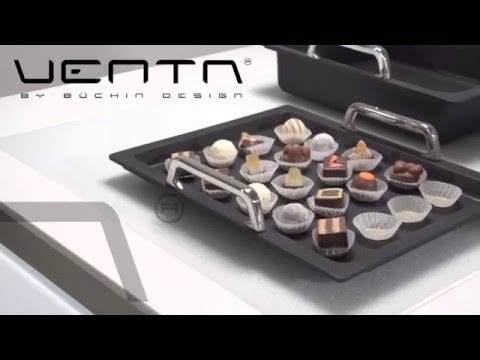 Andy Mannhart presents VENTA, the creative buffet solution