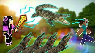 Cách Làm 1 Thanh Kiếm Phóng Ra Cá Sấu Cắn Chết Kẻ Thù !!! - Minecraft