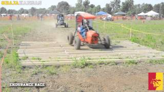 '2014 Baja SAE Kansas - Endurance Race (highlights)