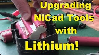 New Lithium for Old Tools!
