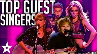 MOST AMAZING Guest Singers | Justin Bieber, Taylor Swift AND MORE! | Got Talent Global