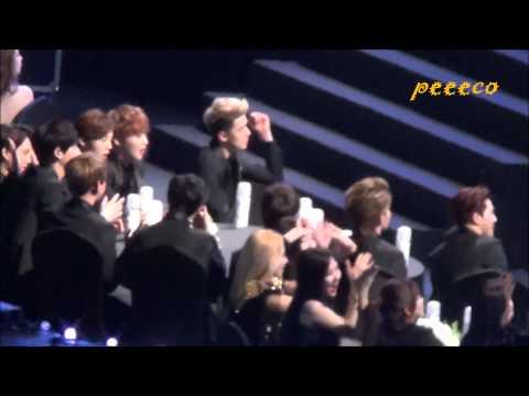 140212 The 3rd Gaon Awards - EXO - During SISTAR