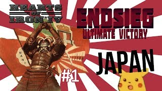 HoI4 - Endsieg - 1945 WW2 Japan - #1 A New Contender Enters the Battle