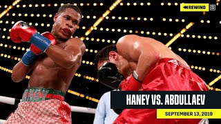 FULL FIGHT | Devin Haney vs. Zaur Abduallev (DAZN REWIND)