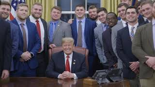 President Trump Welcomes the Clemson Tigers to the White House