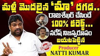 Producer Natti Kumar sensational comments on Maa President..