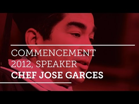Commencement 2012, Speaker Chef Jose Garces - YouTube