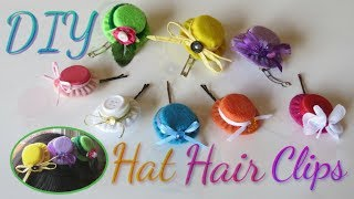 DIY Hair Clip Accessories Made out of Bottle Caps|Cute and Fancy