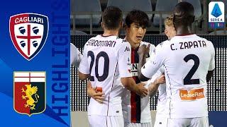 Cagliari 0-1 Genoa | Early Shomurodov Chip Sees Genoa Claim 3 Points! | Serie A TIM