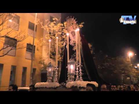 Rosario Vespertino Virgen Purísima Concepción del Parque Alcosa