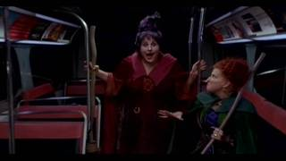 Winifred Sanderson; Witches Take The Bus (HD)