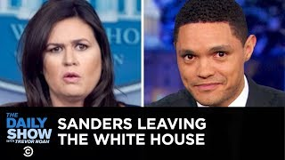 Growing Fears Over Deepfake Technology & Sarah Sanders's White House Exit | The Daily Show