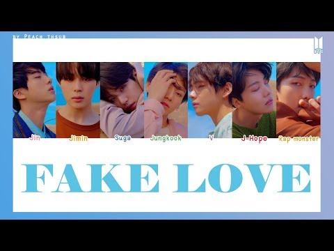 [COLOR CODED/THAISUB] BTS - Fake Love #พีชซับไทย