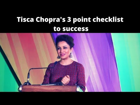 Tisca Chopra on Success and Leadership