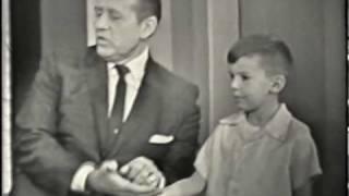 Larry Short on Art Linkletter TV show - 1963