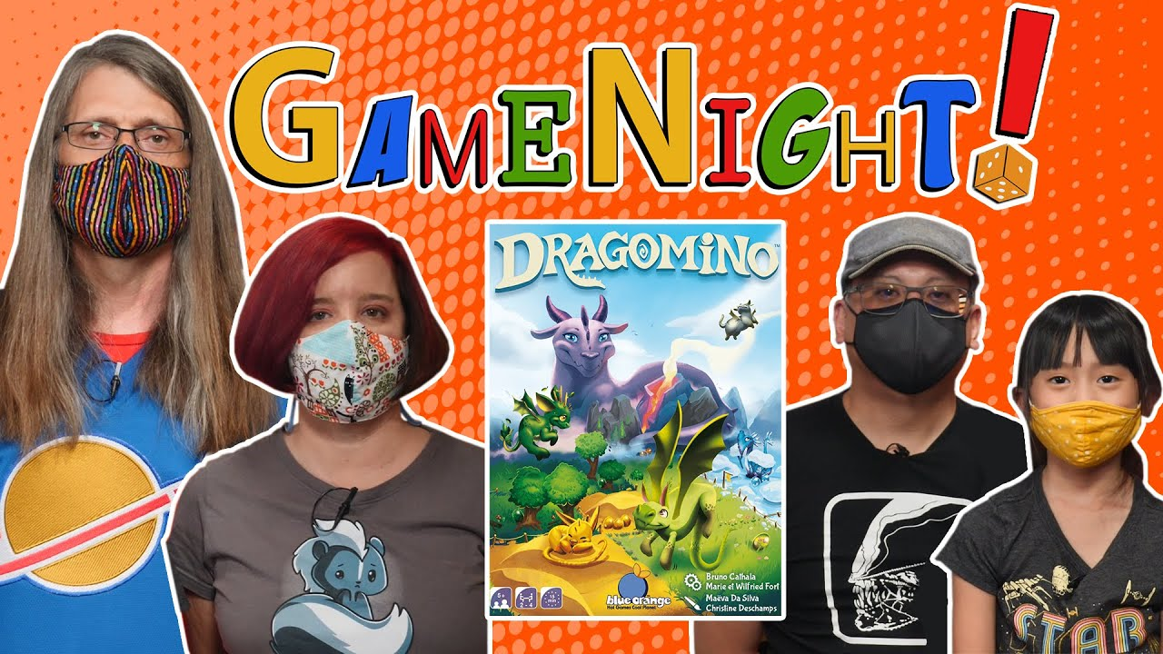 Dragomino - GameNight! Se9 Ep2 - How to Play and Playthrough