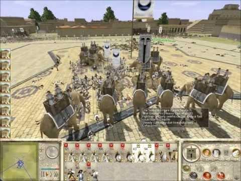 Rome Total War Online Battle #1924: Pyrrhic Siege of Lilybaeum (Historical Battle)