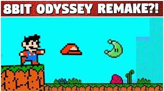 SUPER MARIO ODYSSEY ON NES?!?! | Demake by Eendhoorn