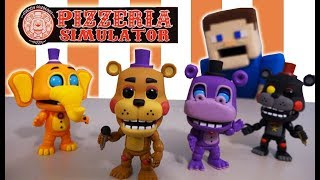 Five Nights at Freddy's Funko POP Pizzeria Simulator Fnaf Figures Toys UNBOXING 2018